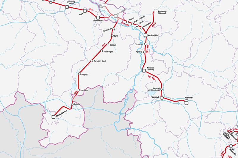 Niedersachsen Karte Pdf.Personennahverkehr Förderung Finanzierung Tarife Niedersachsen