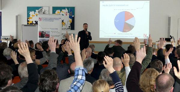 Aktive Mitarbeit bei der Veranstaltung Flexible Bedienformen in Hannover